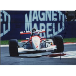Mika Hakkinen McLaren F1 genuine signed authentic autograph photo