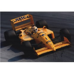 Nelson Piquet Lotus F1 genuine signed authentic autograph photo AFTAL
