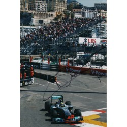 Nico Rosberg Mercedes F1 genuine signed authentic autograph photo AFTAL