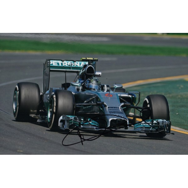 Nico Rosberg Mercedes F1 genuine signed authentic autograph photo UACC