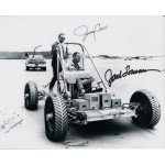 Space Skylab Jerry Carr Jack Lousma genuine signed authentic signature photo