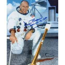 Alan Bean Apollo 12 space genuine authentic autograph signed photo.