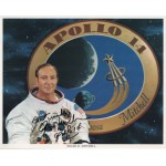 Edgar Mitchell WSS Apollo 14 space genuine signed autograph photo
