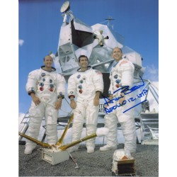 Alan Bean Apollo 12 genuine authentic autograph signed photo AFTAL