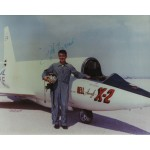 Pete Everest test pilot authentic genuine signed autograph photo