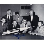 Mercury Scott Carpenter genuine signed autograph photo 2 UACC