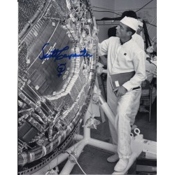 Mercury Scott Carpenter authentic signed autograph photo AFTAL