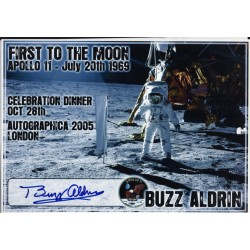 Apollo 11 astronaut Buzz Aldrin authentic signed autograph photo 4