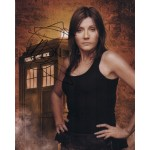 Doctor Who Michelle Collins signed original genuine authentic photo