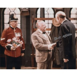 Frank Williams Dads Army genuine authentic signed autograph photo