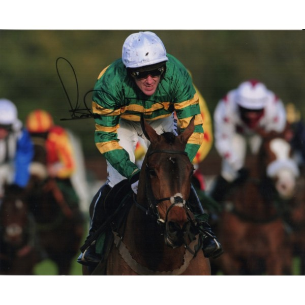 Horse Racing A P McCoy signed original genuine autograph authentic photo