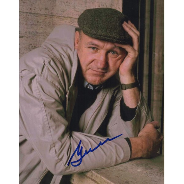 Gene Hackman genuine authentic autograph signed image COA RACC