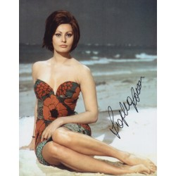 Sophia Loren genuine authentic autograph signed photo COA UACC