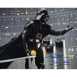 Dave Prowse Darth Vader Star Wars signed genuine signature photo 15