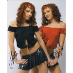 Cheeky Girls genuine signed authentic autograph signed colour photo 4