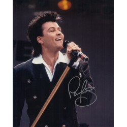 Paul Young authentic signed autograph colour photo