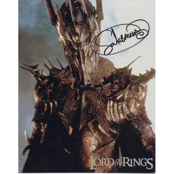 Lord of the Rings Sala Baker signed original genuine autograph authentic photo