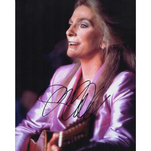 Judy Collins authentic genuine signed autograph photo 2