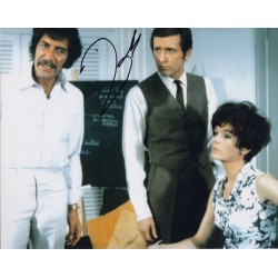 Peter Wyngarde Department S signed autograph photo 2