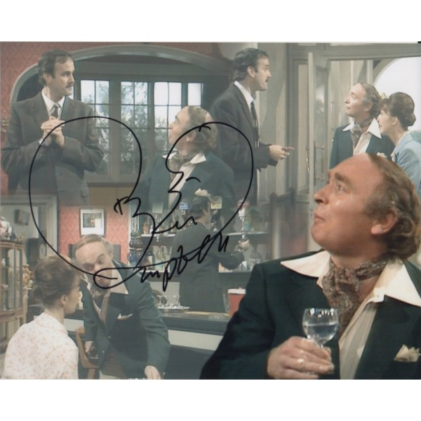 Ken Campbell Fawlty Towers 2 genuine authentic signed autograph photo