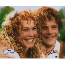 Lord of the Rings Sarah McLeod Sean Astin genuine signed authentic signature photo