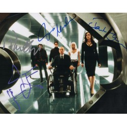 James Marsden Patrick Stewart Hugh Jackman X Men signed autograph photo