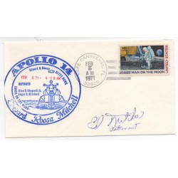 Edgar Mitchell Apollo 14 genuine authentic signed autograph FDC 2