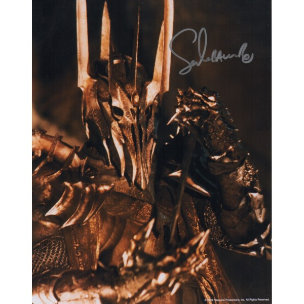 Lord of the Rings Sala Baker signed autograph photo AFTAL