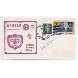 Apollo 15 Dave Scott genuine authentic autograph signed FDC