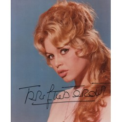 Brigitte Bardot authentic signed genuine signature photo 3 COA AFTAL UACC