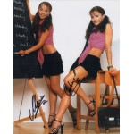 Cheeky Girls genuine signed authentic autograph colour photo 3