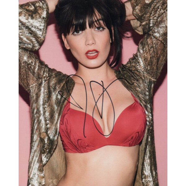 Daisy Lowe genuine authentic signed autograph photo 4
