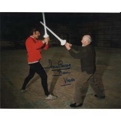 Dave Prowse Darth Vader Star Wars Guinness signed genuine photo RACC