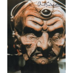 Doctor Who David Gooderson Davros genuine signed authentic signature photo