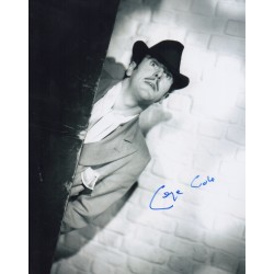 George Cole Spiv St Trinians genuine authentic signed autograph photo