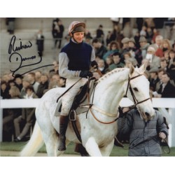 Horse Racing Richard Dunwoody Desert Orchid authentic signed photo