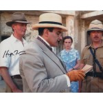 Hugh Fraser Poirot genuine signed authentic autograph photo AFTAL