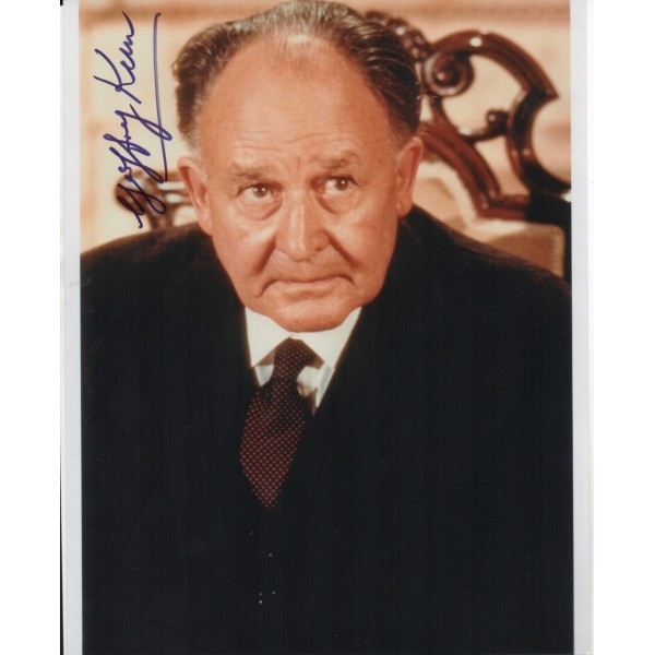 James Bond Geoffrey Keen authentic signed autograph photo