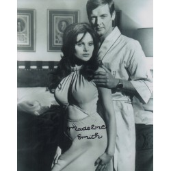 James Bond Madeline Smith original genuine autograph authentic photo