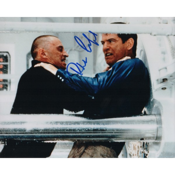 James Bond Robert Carlisle genuine signed authentic signature photo