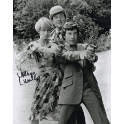 Joanna Lumley Avengers genuine authentic autograph signed photo AFTAL
