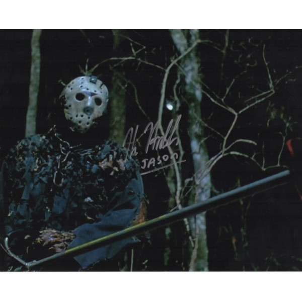 Kane Hodder Friday 13th genuine authentic autograph signed photo COA