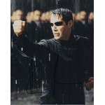 Keanu Reeves Matrix authentic  signed autograph photo COA