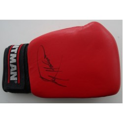 Larry Holmes Boxing genuine authentic autograph signed training mitt