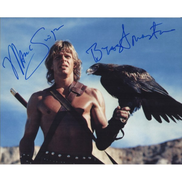 Marc Singer Beastmaster authentic signed autograph photo COA UACC
