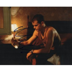 Matt Damon Bourne signed genuine signature authentic signed photo