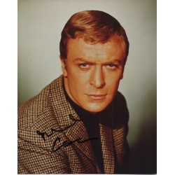 Michael Caine genuine authentic autograph signed image COA RACC