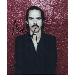 Nick Cave genuine authentic signed autograph photo AFTAL UACC