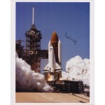 Paul Weitz group astronaut authentic signed photo shuttle