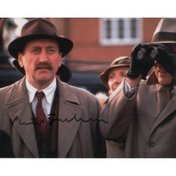 Philip Jackson Poirot genuine authentic autograph signed photo COA